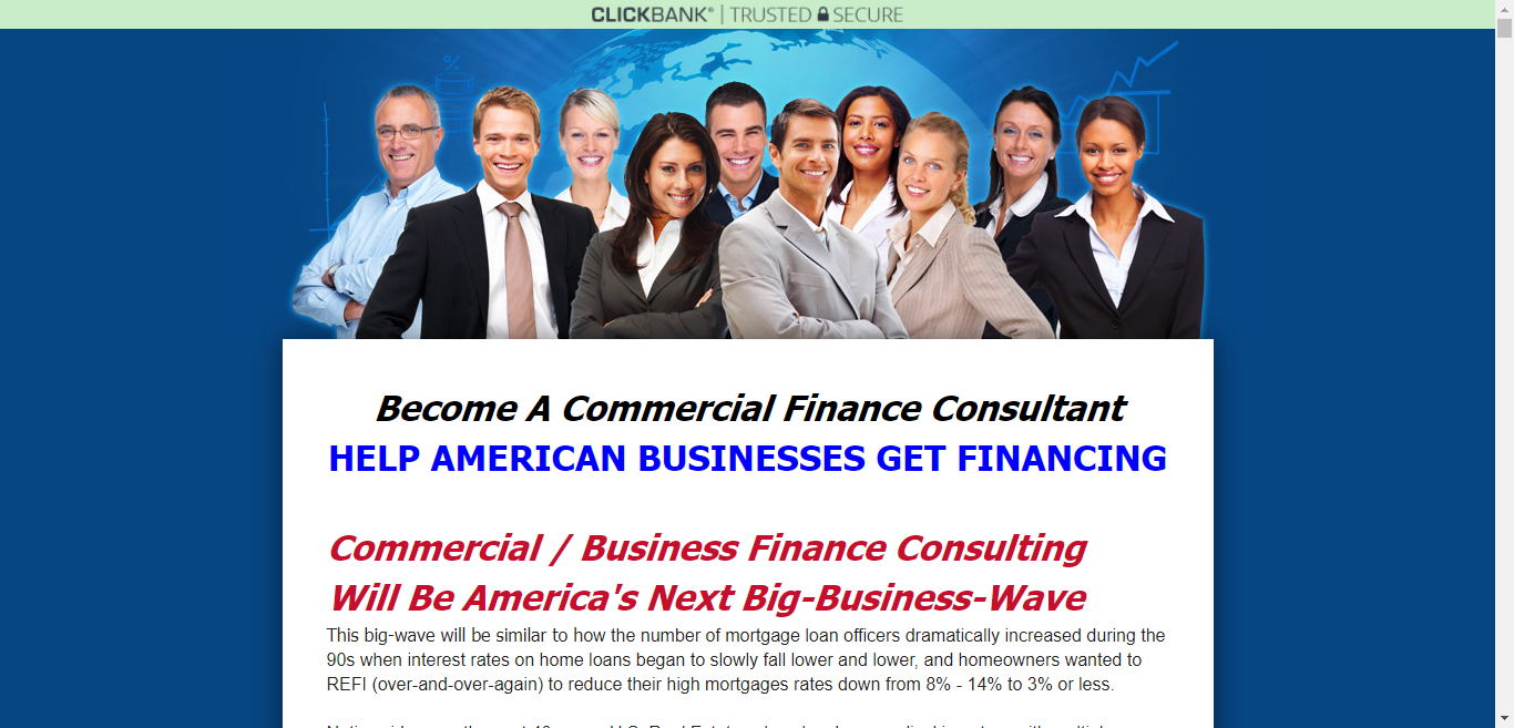 Become A Commercial Finance Consultant