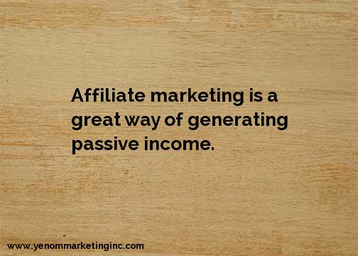 Affiliate Marketing Passive Income