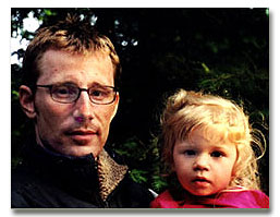 Armand Melanson with daughter Emma