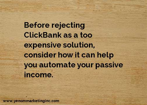 ClickBank Passive Income Automation