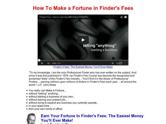 Finders Fees