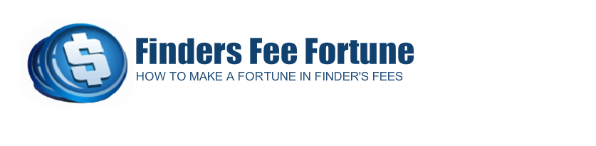 How To Make a Fortune in Finders Fees