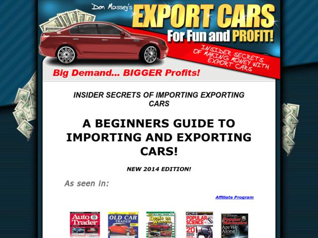 Import Export Car Business