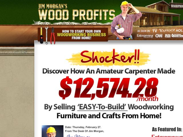 Wood Profits: How To Start Your Own Woodworking Business from Home!