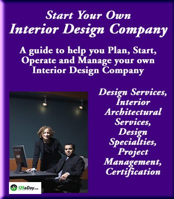 Start your own pool service company for Starting an interior design business