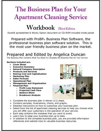 The Business Plan For Your Apartment Cleaning Service