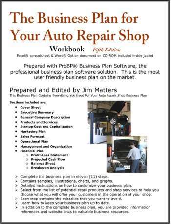 auto repair shop business plan Auto body repair shop business plan 2nd edition 2018-2019 - kindle edition by bplan xchange, scott proctor download it once and read it.