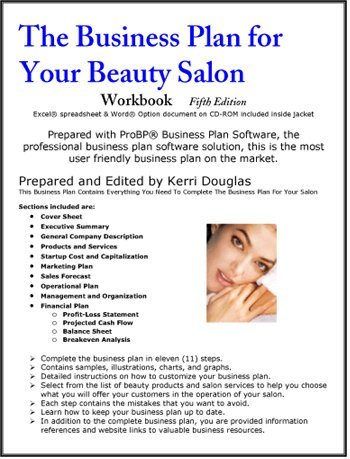 sample small business plans designed for your hair salons