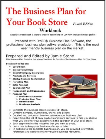 Bookstore business plan pdf