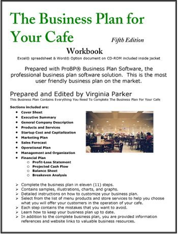 Cafe business plan pdf