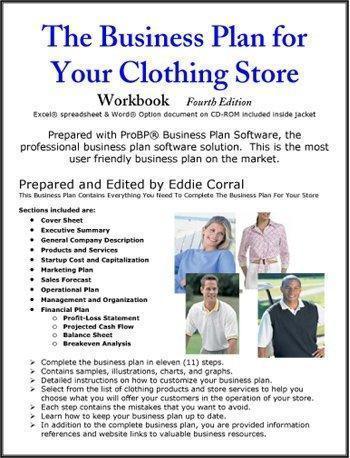 Business plan retail store sample