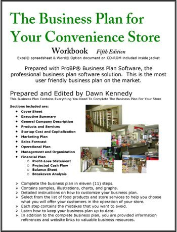 Convenience store business plan guide
