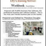 Dry Cleaning Service Business Plan