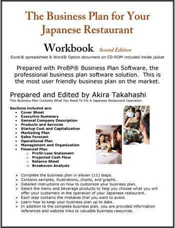 sushi business plan