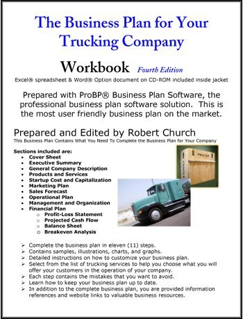 business plan trucking services business plan for merrill lynch