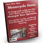 Start Your Own Motorcycle Store